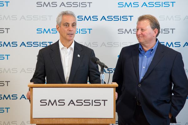 SMS Assist Rahm Visit